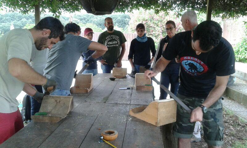 pratica su legno